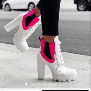 White Stylish Boots